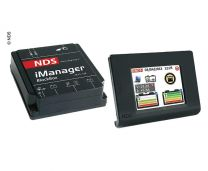 Draadloze touchscreen accumonitor IManager 12V 150A