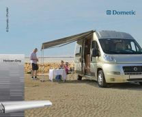 Luifel Dometic Perfect Roof PR2000 4m Horizon Grey