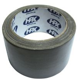 Textieltape zilver 10mx50mm